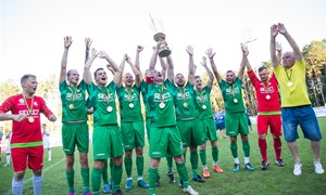 Lietuva iškovojo Baltijos mažojo futbolo taurę