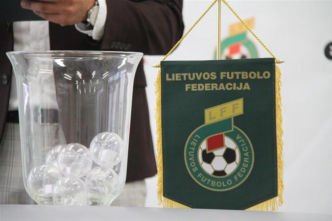 Ištraukti LFF Futsal taurės I etapo burtai