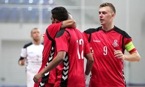 """""""Vytis"""" – per žingsnį nuo pagrindinio Futsal Čempionų lygos etapo"""