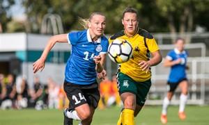 Baltijos taurės starte – lygiosios su Estija