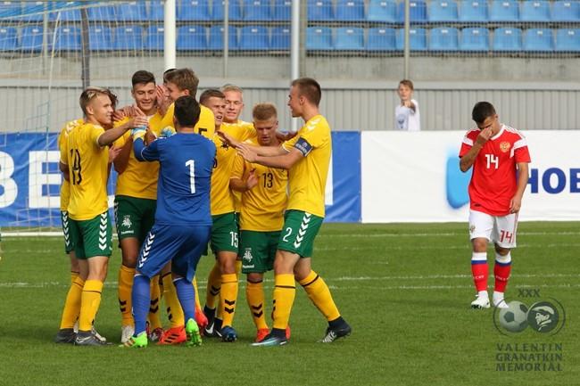 V. Granatkino turnyre U-19 rinktinė nugalėjo ir Rusiją