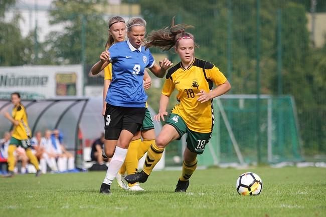 Penkiolikmečių merginų rinktinė debiutavo Baltijos taurės varžybose