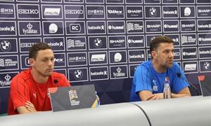 """Serbijos treneris: """"Rungtynės bus sunkios"""""""
