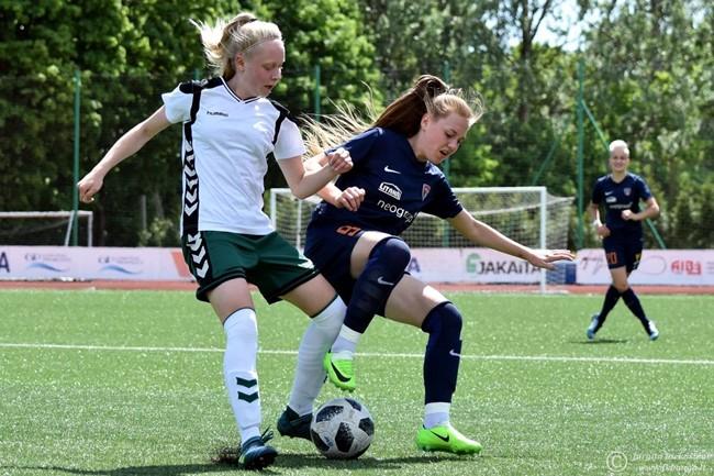 Moterų A lygos sezone – finalinė atkarpa