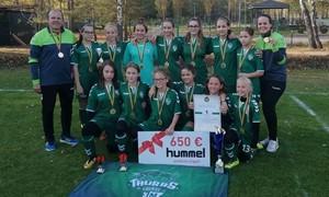 Kauniečių triumfas vainikavo LMFA Mergaičių čempionatą