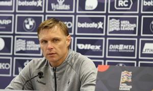 """E. Jankauskas: """"Pasikeitimų rinktinės sudėtyje bus"""""""