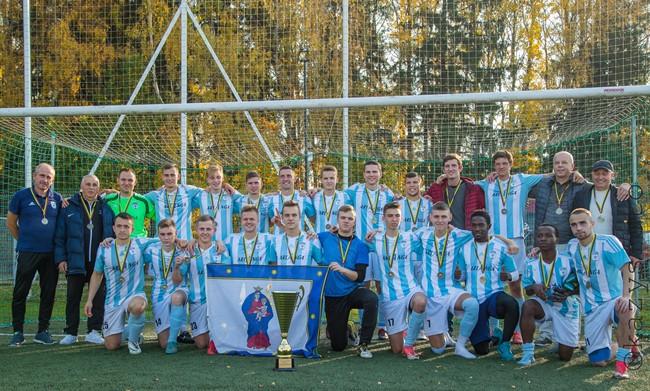 """""""Minija"""" – LFF II lygos Vakarų zonos pirmenybių nugalėtoja"""