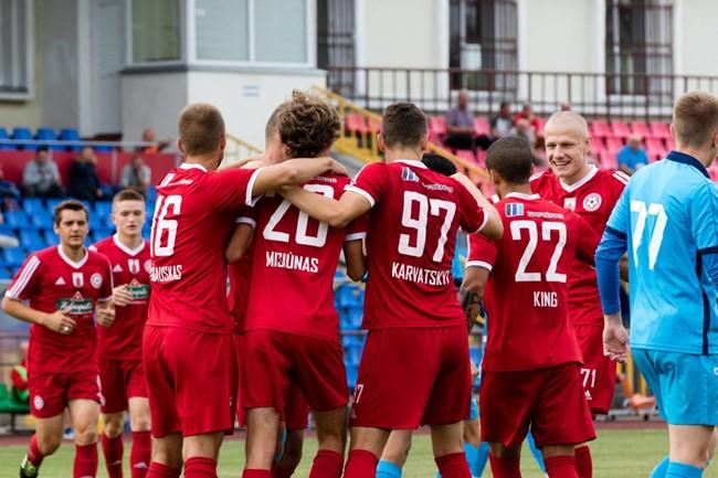 """""""Panevėžys"""" iškovojo LFF Pirmos lygos titulą"""