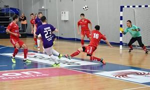 """Jonavoje – įspūdinga """"Vikingų"""" pergalė Futsal A lygoje"""