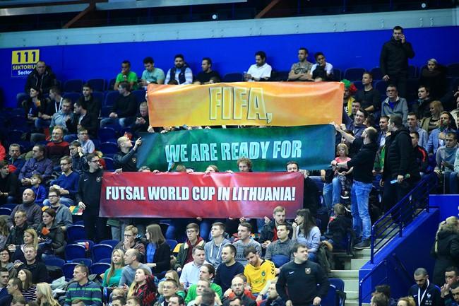 Oficialu: Lietuvoje – pasaulio čempionatas!