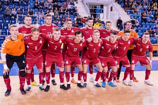 Lietuvos futsal rinktinė pralaimėjo Slovakijai