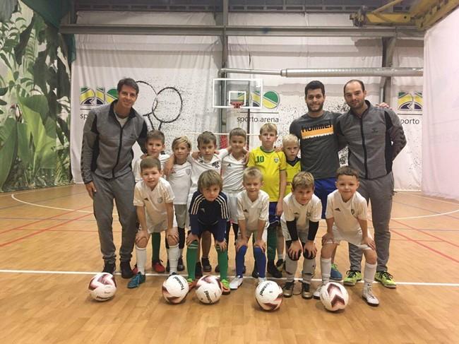 Pirmoje Lietuvoje futsalo akademijoje – vertingos brazilų pamokos