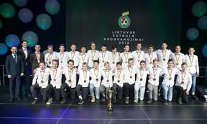 SHARP Elitinės jaunių lygos laureatai apdovanoti LFF Bendruomenės šventėje