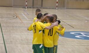 Lietuvos futsal rinktinė nugalėjo Andorą