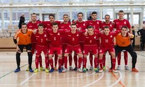 Lietuvos futsal rinktinė žais su Kirgizija