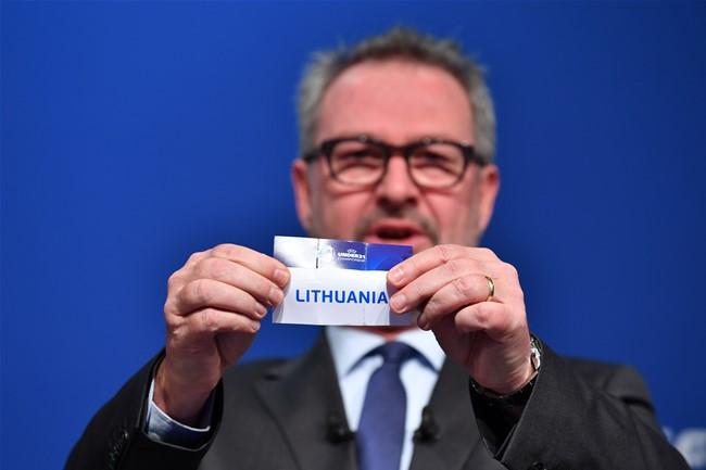 Ištraukti Europos U-21 čempionato atrankos burtai
