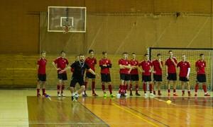 Įvertinti U-19 futsal rinktinės kandidatai