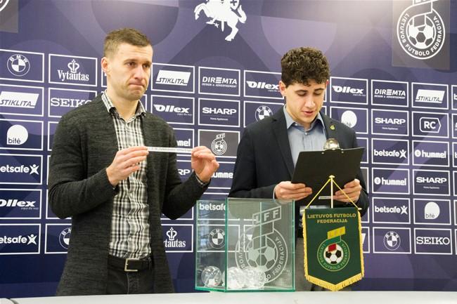 Ištraukti LFF Futsal taurės ketvirtfinalio burtai