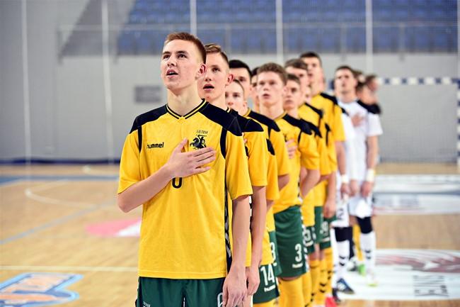 U-19 futsal rinktinė pasirengusi debiutui Europoje