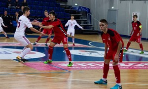 Antrosiose rungtynėse – pralaimėjimas Latvijai