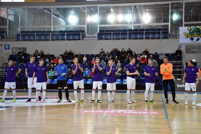 """""""Vikingai"""" iškovojo trečią vietą """"Betsafe Futsal A lygoje"""""""