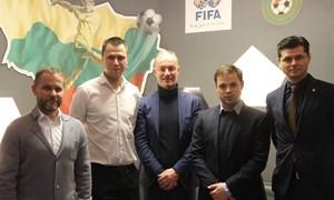 """Pristatė """"Anderlecht"""" jaunimo ugdymo programą LFF vadovams"""