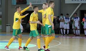 Futsal rinktinei - Gruzijos išbandymai