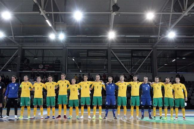 Lietuvos futsal rinktinė neprilygo Kirgizijai