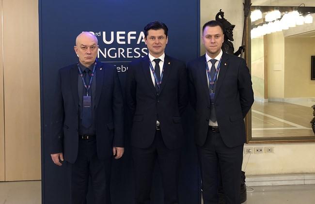 UEFA prezidentu perrinktas A. Čeferinas