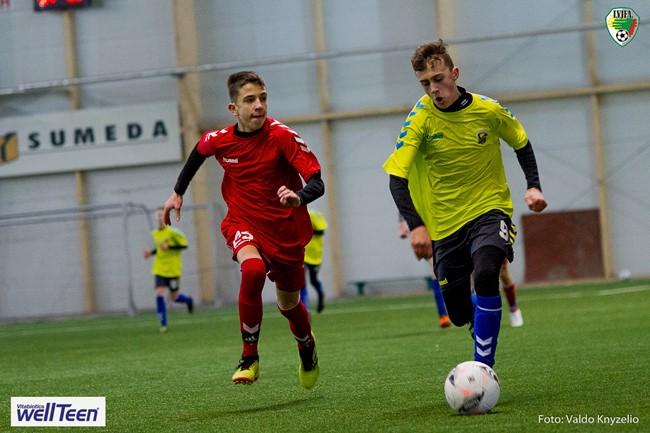 Lietuvos regionų pirmenybių sezoną pradėjo U-16 žaidėjai