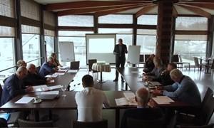 V. Urbonas pristatė idėjas LFF trenerių tarybai