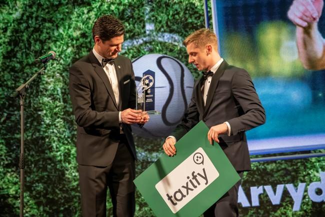 Apdovanoti 2018 m. Lietuvos futbolo geriausieji