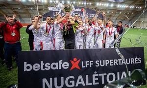 """""""Sūduva"""" apgynė """"Betsafe LFF Supertaurės"""" trofėjų"""