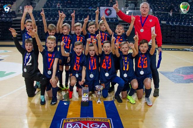 Gargždų ir Garliavos žaidėjai triumfavo vaikų Futsal taurės turnyre