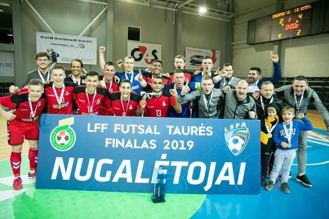 """LFF futsal taurės laimėtojai – Kauno """"Vytis"""""""