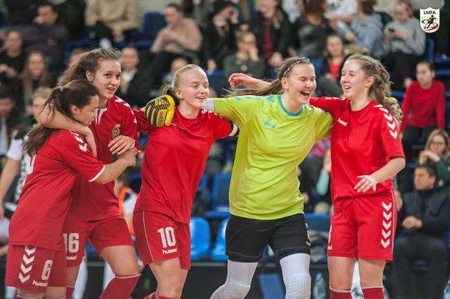 Šeštadienį startuos 2020 m. LMFA moterų futsalo čempionatas