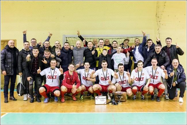 """ŠAFF salės futbolo pirmenybėse – """"Saulininko"""" komandų triumfas"""