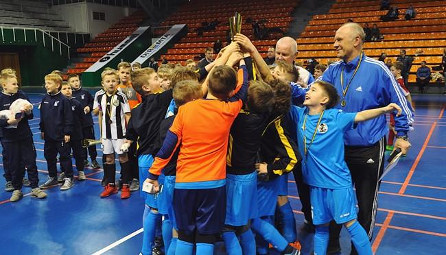 Kauno halėje vyks Lietuvos vaikų mažojo futbolo čempionato finalinis etapas