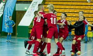 Mažojo futbolo sezoną vainikavo vilniečių ir panevėžiečių triumfas