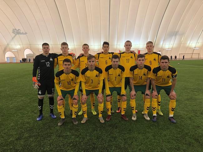 U-19 rinktinė stos į kovą dėl Baltijos taurės
