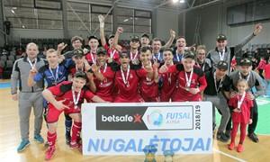 """""""Vytis"""" apgynė """"Betsafe Futsal A lygos"""" titulą"""