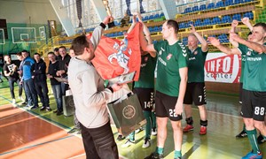 Tarptautiniame turnyre Ukrainoje – Lietuvos sporto žurnalistų sidabras