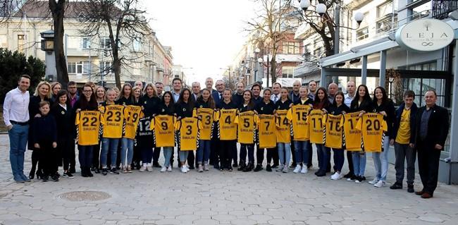 Naujo sezono komandos pristatyme – lietuvių kalbos testas bei užuomina apie įspūdingą rekordą