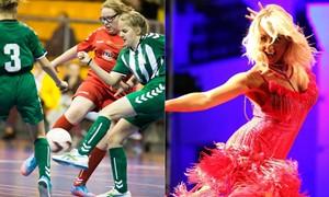 """""""Ladygolo"""" superfinalo burtus trauks garsi šokėja E. Straleckaitė"""