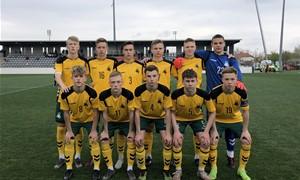 U-17 rinktinė dalyvaus turnyre Estijoje