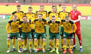 Lietuvos U-21 rinktinė žais su latviais