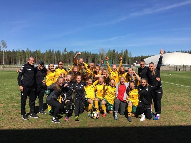 WU-16 rinktinė turnyre Suomijoje užėmė trečią vietą