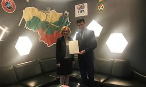 LFF prezidentas sulaukė padėkos iš Baltarusijos premjero