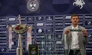 """Ištraukti """"SHARP LFF taurės"""" aštuntfinalio burtai"""