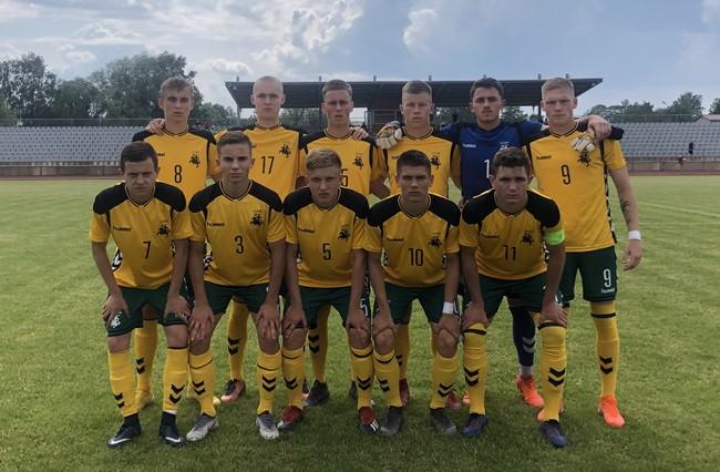 U-19 rinktinė nesėkme pradėjo Baltijos taurės turnyrą
